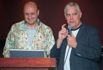 David Martin en Joris Tiebout met het voorwoord